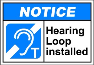 Costs of hearing loop installed.